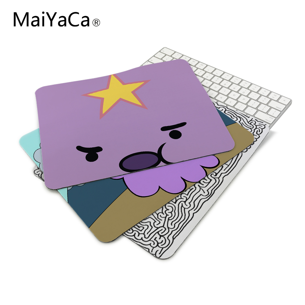 adventure time   lumpy space princess Amines Durable Mouse Pad Computer Mouse Mat Size 180mmX220mmx2mm