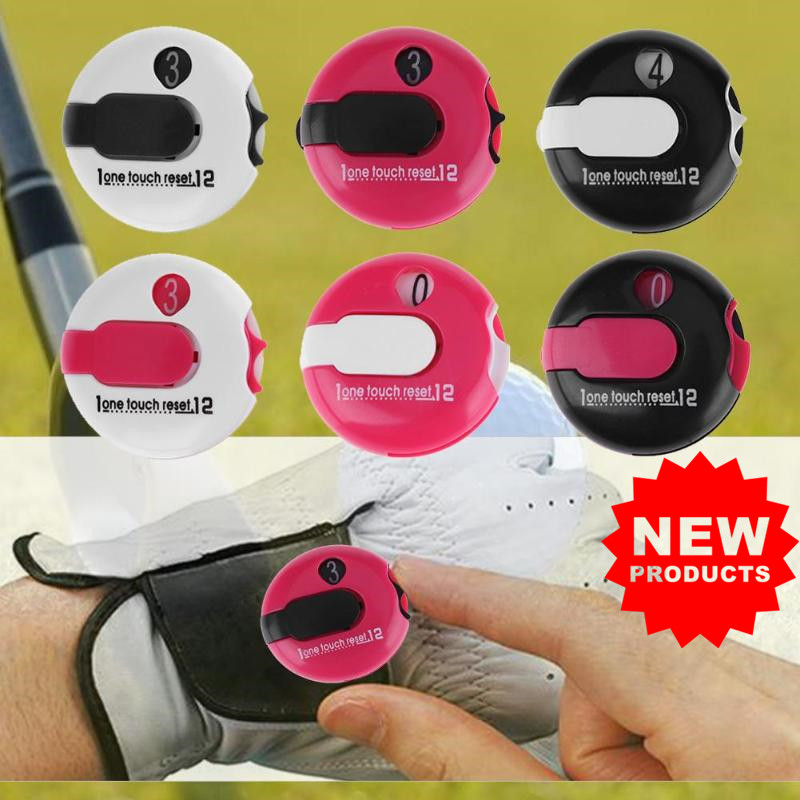 Golf Stroke Counter Plastic Indicator Sport Cumulative Scorers 3 Colors Score Count Device Reset Outdoor Sports Golf Accessories
