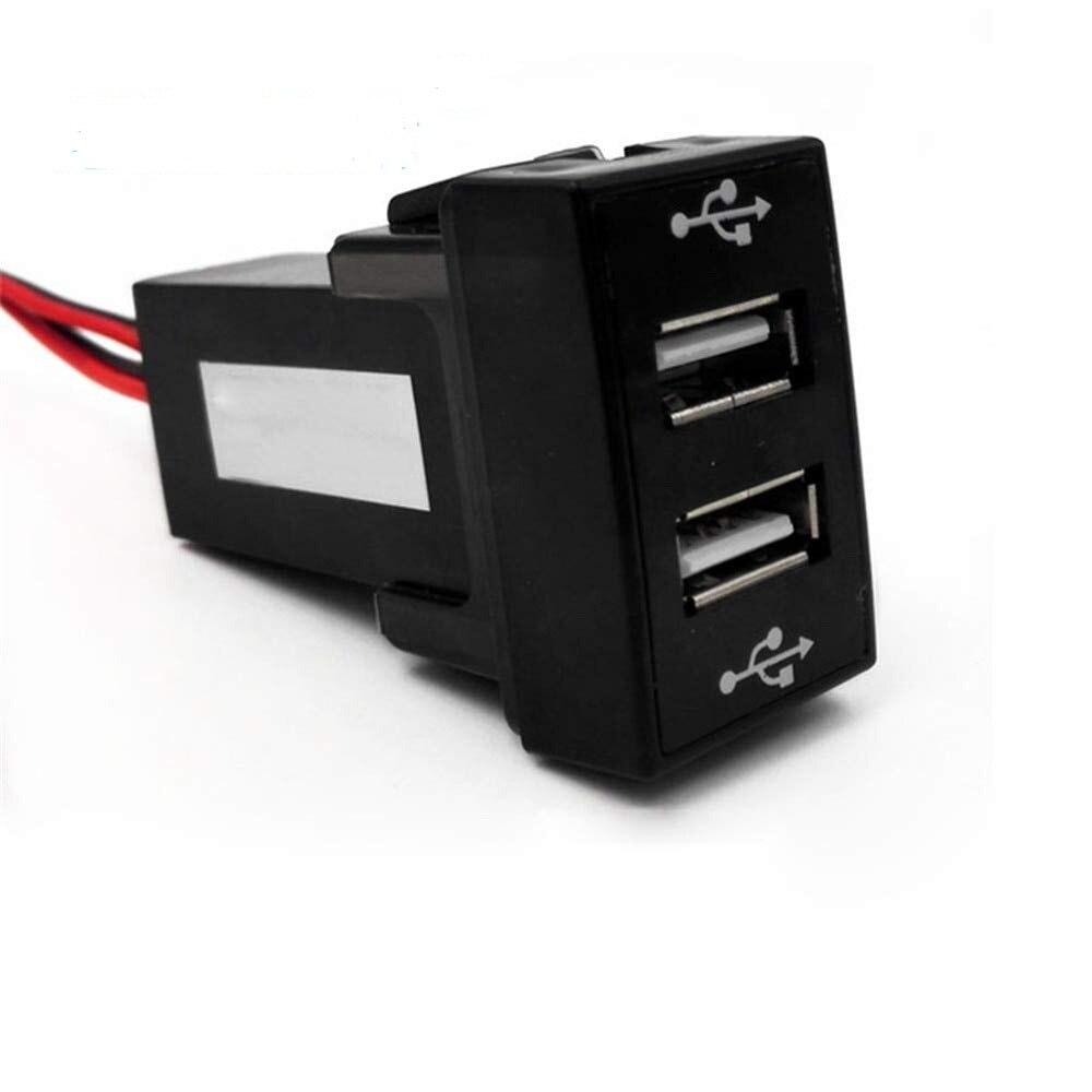 Unparteiisch Dual Usb Port Lade Dashboard Mount Auto Panel Usb Ladegerät Für Ford Für Telefon Tablet