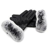 Women's autumn and winter warm gloves real sheepskin making natural fur gloves 2018 new hot buy discount urban fashion