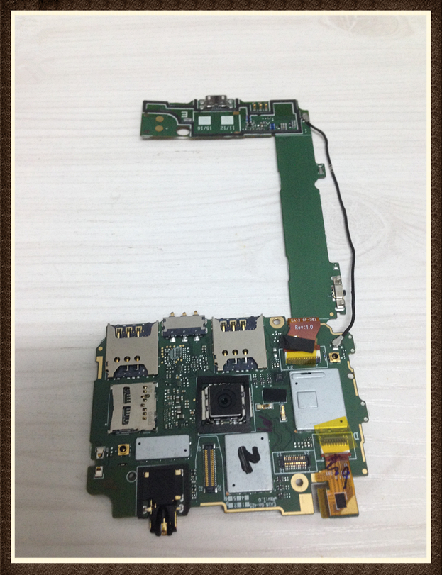 Choose Language ~ Original Motherboard For  535 RM-1090 dual sim WCDMA 3G Mainboard Board Free Shipping choose language unlock good quality original motherboard for one m7 802 32gb dual sim free shipping