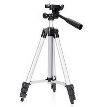 Best price Universal Tripod 4 Sections Lightweight Tripod Portable Tripod For Gopro Fuji Canon Sony Nikon Camera With Bag