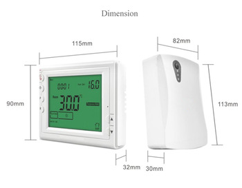 Digital Wireless Thermostat Programmable Room Heating Thermostat For Electric Heating Panel Radiator Actuator Gas Boiler