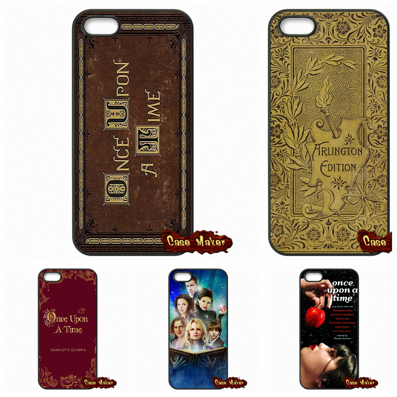 Once Upon A Time Book Phone Covers Cases For iPhone SE 4 4S 5S 5 5C 6 6S Plus Samsung Galaxy S3 S4 S5 MINI S6 S7 Edge Note 4 5