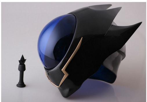 Anime Mask Cosplay Props Code Geass Lelouch Zero Helmet Halloween PVC New Cosplay Props