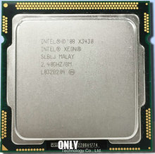 Free Shipping Intel Xeon CPU x3430 CPU 2.4GHz/ LGA 1156 /8MB L3 Cache/quad-CORE/95W Processor scrattered piece