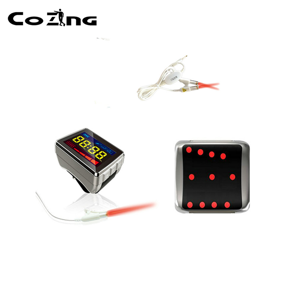 COIZNG New Laser Watch Accessories Pain Board Anti inflammatory Free Shipping Laser Blood Irradiation Therapy Watch in Massage Relaxation from Beauty Health