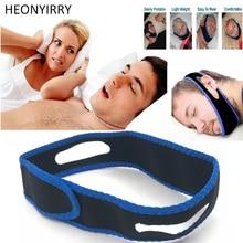 Anti Snore Chin Strap Stop Horkolás Snore Belt Alvási Apnoe Chin Támogatópántok a Nő ember számára Egészségügyi ellátás Alvási segédeszközök