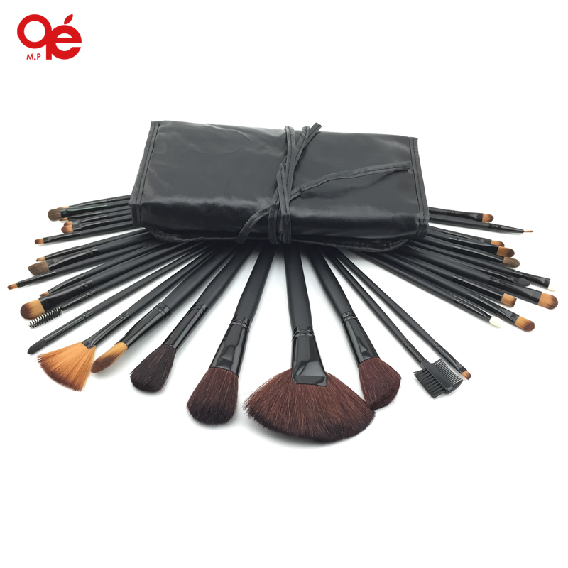 professional 32pcs make up brushes high quality facial cosmetic kit beauty bags set makeup тушь make up factory make up factory ma120lwhdr04