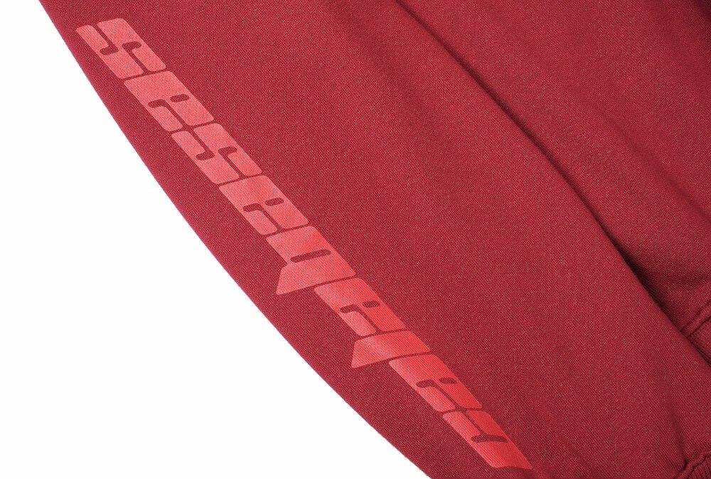 6dcce39551d New Hot Latest KANYE WEST CALABASAS letters Long sleeve Sweatshirts JUSTIN  BIEBER hip hop Fashion Cotton ...