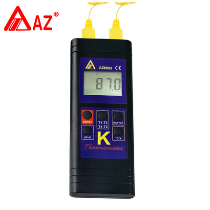 AZ8801/AZ8803 AZ8811 Waterproof K type Thermocouple Thermometer with measuring range -200 az8803 digital thermocouple thermometer with temperature range 50 1300 degree