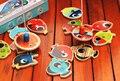 Pacote de caixa de Lata brinquedo de pesca magnética de Madeira das crianças brinquedos Educativos Presente de Natal das crianças de Alta qualidade do brinquedo para meninos meninas