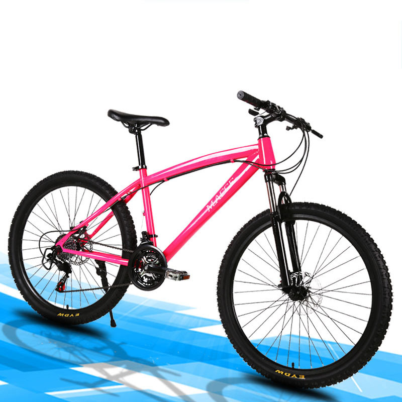 Mountain Bike Bicycle 26 Inch 24 Speed Double Disc Brake 2019 New Multicolor Suitable For A Variety Of Road Conditions
