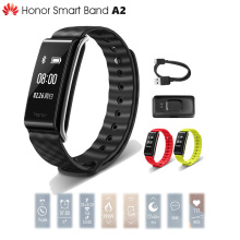 In Stock Original Huawei Honor A2 Smart Wristband 0.96″ OLED Screen Pulse Heart Rate Monitor Show Message Refuse Call IP67