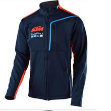 Racing costume chandail moto rcycle équitation KTM moto GP chandail veste moto rcycle rider pull col section Mince(China)