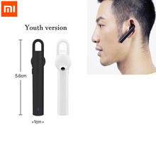 Original Xiaomi Bluetooth Earphone Youth Edition Headphones Wireless Bluetooth 4.1 Headset Support Volume control, song switch