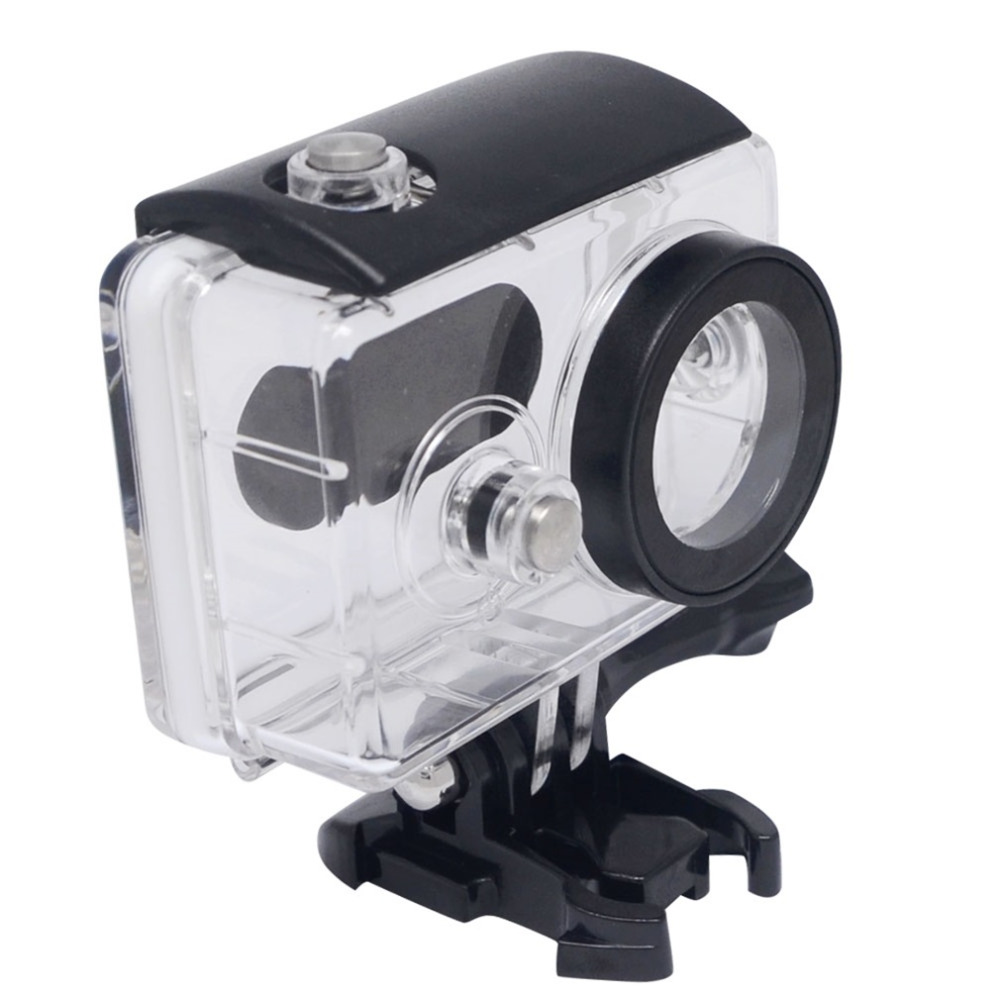 NEW Waterproof Housing Shell Case for Xiaomi Yi Action Sports Camera for Diving Snorkeling and Other Underwater Activities