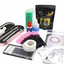Профессиональный набор для наращивания ресниц Набор инструментов для наращивания ресниц комплект для наращивания ресниц