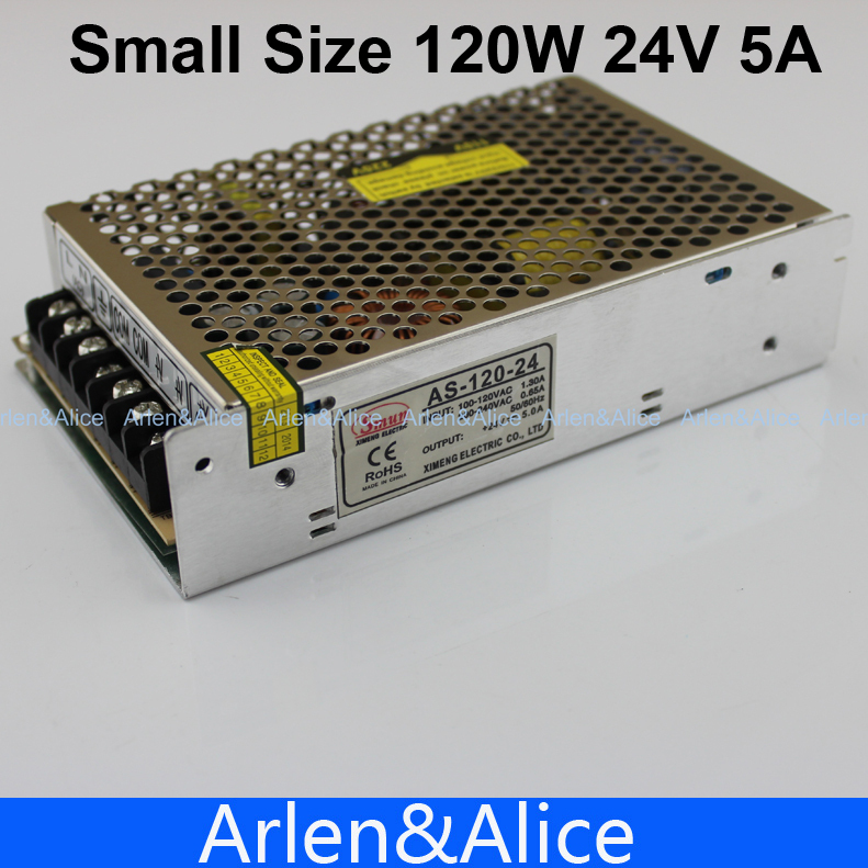 120w 24v 5a Small Volume Single Output Switching Power