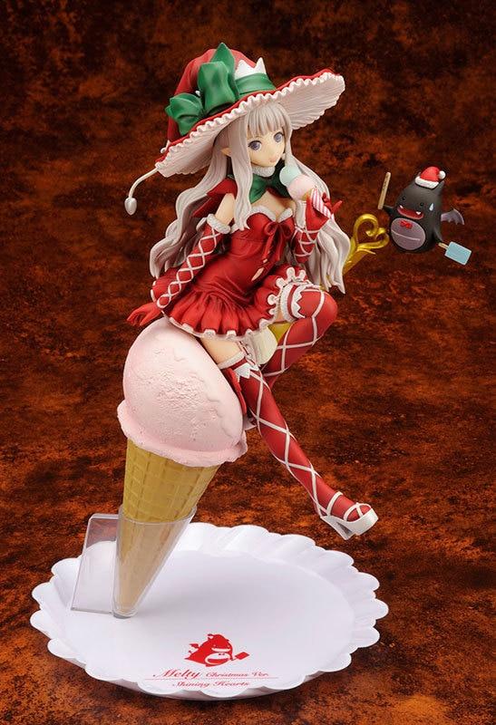 Huong Anime Figure 20 CM Shining Hearts Melty Granit Glace crème Ver 1/8 Échelle Sexy Action PVC Figure Collection Modèle jouet