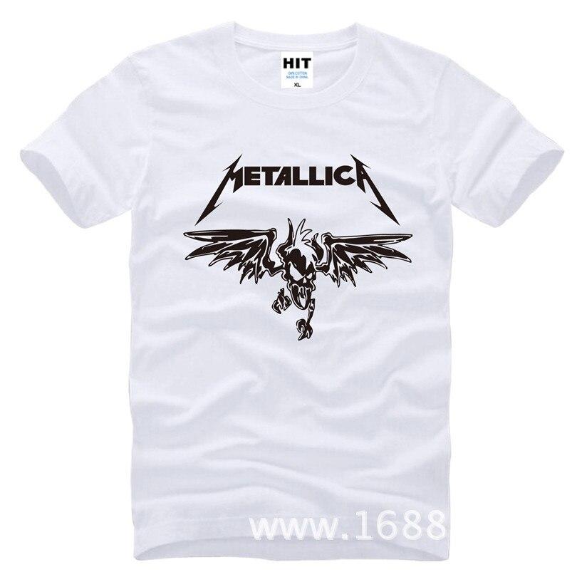 Klassik Ağır Metal Metallica Rok Kişilər üçün Köynək T-shirt - Kişi geyimi - Fotoqrafiya 6