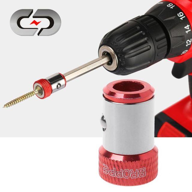 Насадки для отвертки, магнитное кольцо 1/4 дюйма, 6,35 мм, металлический Прочный Магнитный винт