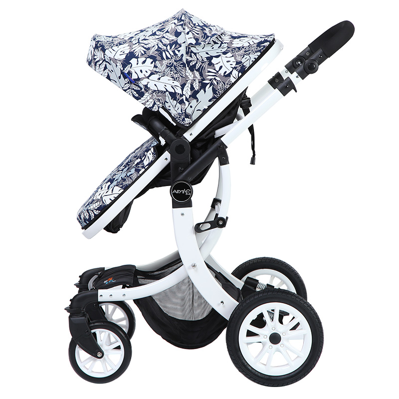 Baby stroller 3 in 1 stroller for children car poussette buggy umbrella stroller can sit and lie children strollerBaby stroller 3 in 1 stroller for children car poussette buggy umbrella stroller can sit and lie children stroller