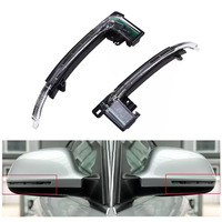 JEAZEA 8K0949101 8K0949102 2Pcs Left Right Dynamic Wing Mirror Indicator Turn Signal Light Lamp For Audi A3 A4 S4 A5 S5 2016
