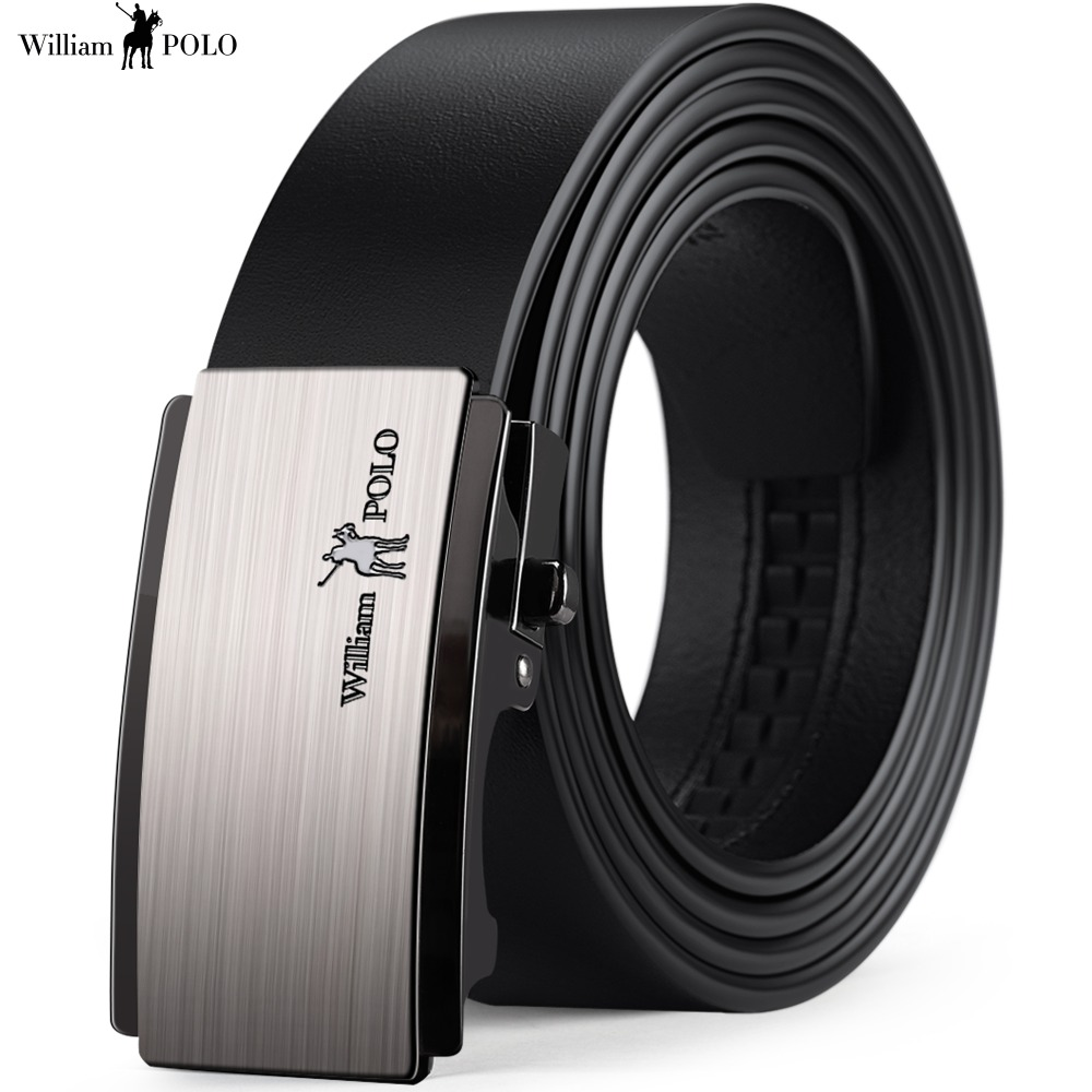 Fashion Belt Men Leather Strap Male Automatic Buckle Belts Girdle Ceinture Designer Jean Waistband