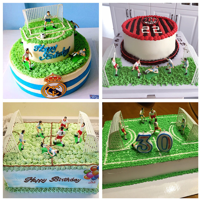 1 Set Football Game Soccer Sport Cake Decoration Party Birthday DIY Gifts