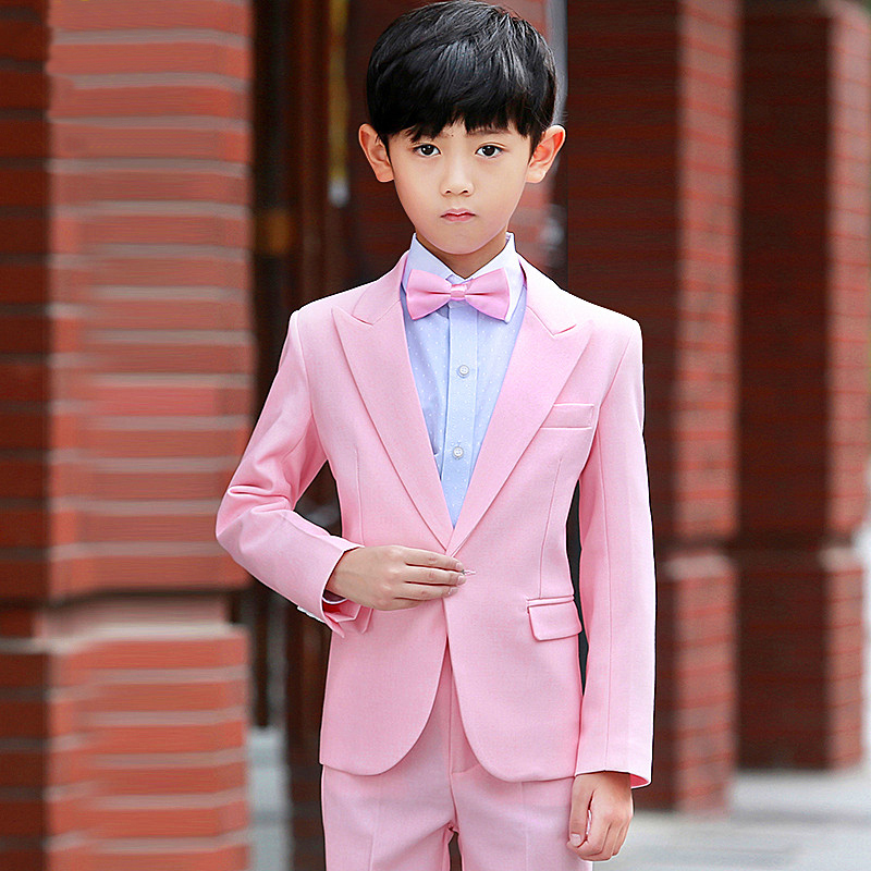 British 2018 Pink Fashion Baby Boys Kids Blazers Boy Suit For ...
