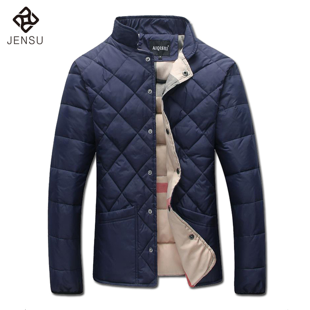 2016 Men Cotton Padded Winter Jackets Coats Jaqueta Masculina Men's Casual Fashion Slim Fit Plus Size Veste Homme Jackets Male