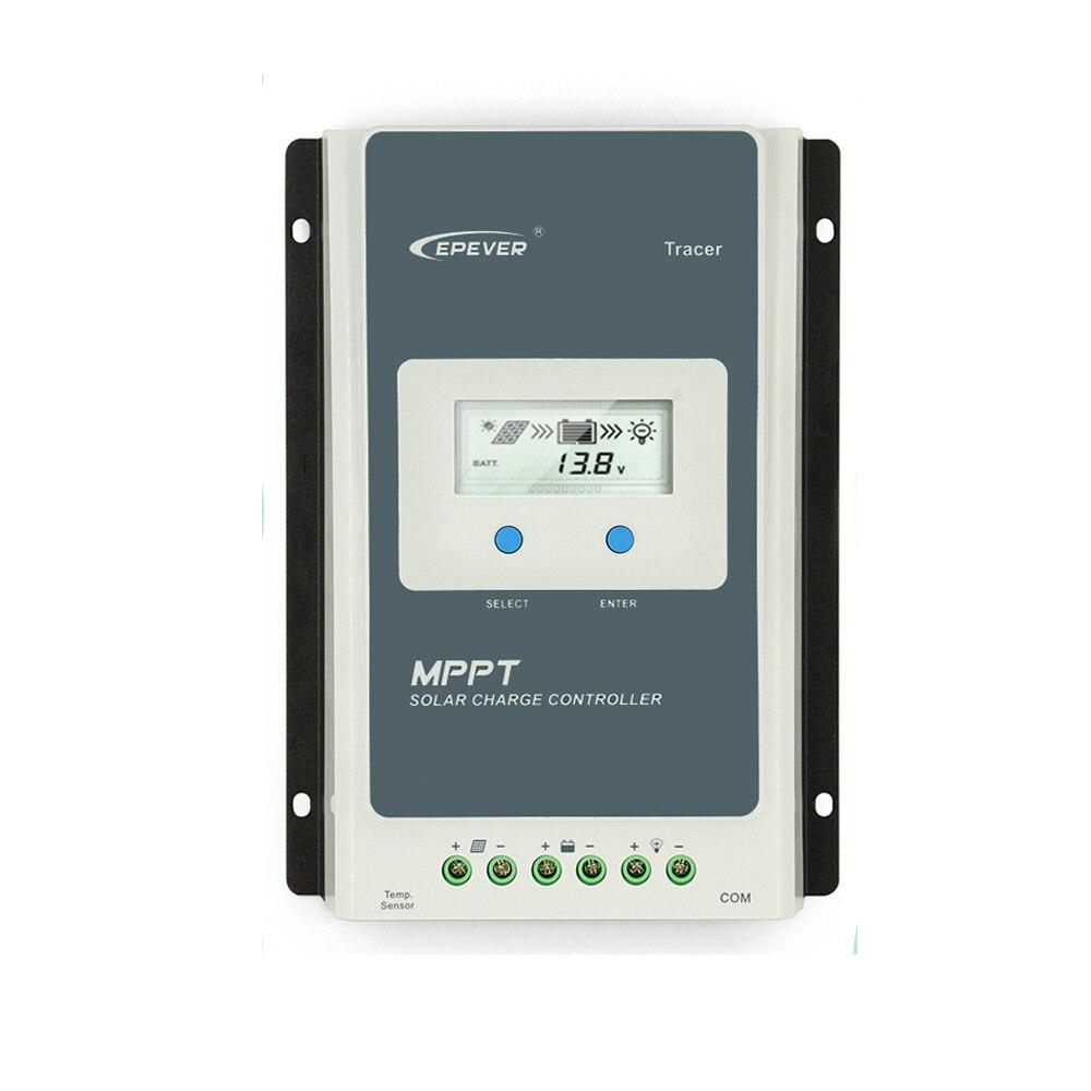 EPever MPPT 40A/30A/20A/10A Solaire régulateur de charge Noir-Lumière LCD régulateur solaire pour 12 V 24 V Au Plomb Au Lithium-ion Batteries - 5