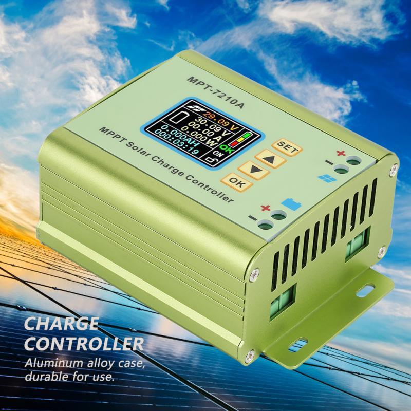 Image 3 - MPT 7210A LCD MPPT Solar Panel Charge Controller Aluminum Alloy for Lithium Battery 24V / 36V / 48V / 60V / 72V battery pack-in Solar Controllers from Home Improvement