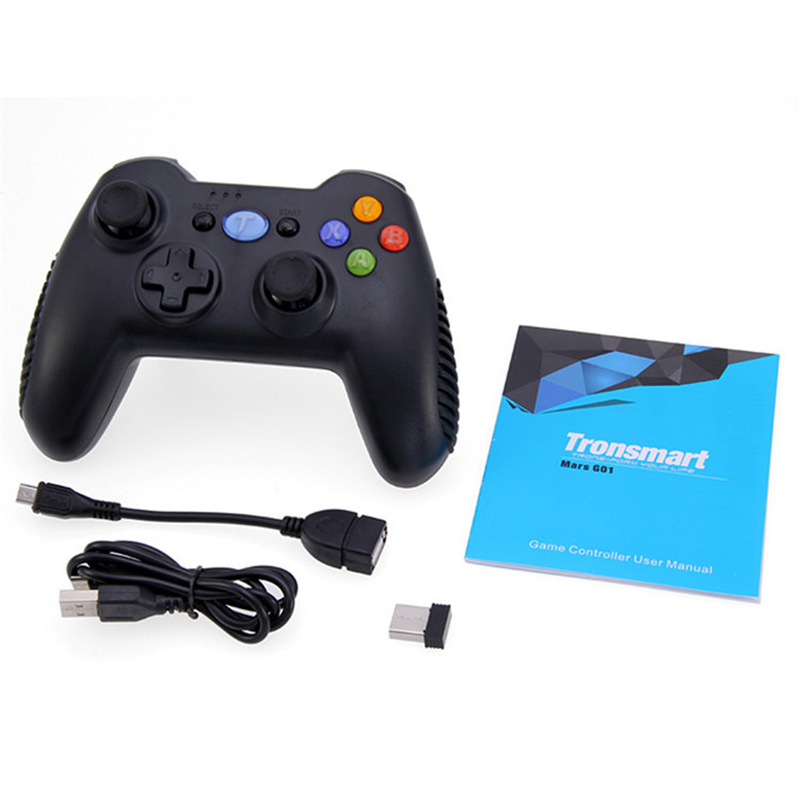 Tronsmart 2 4G Wireless Game Handle Controller Remote Joystick GamePad with Holder For Xiaomi Android Smart