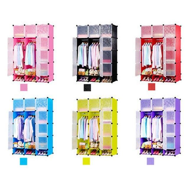 Online-Shop DIY magie stück plastikschränke kinder kleiderschrank ...