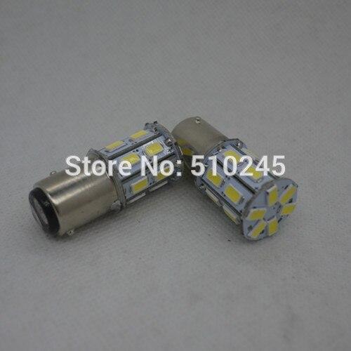 30X new car led light bulb 1157 BAY15D 20 smd 5630 DC12V white Brake Tail Turning Signal Light Bulb auto Lamp