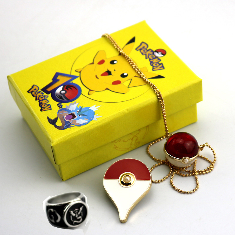 hot-games-font-b-pokemon-b-font-go-cosplay-costumes-badges-pokeball-necklace-pendants-alloy-brooch-pins-rings-set-for-halloween-xmas-gift