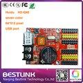Porta USB 64*512 sete cores levou controlador de pixel cartão HD-U62 HD-Q40 cartão de controle de P10 P16 P20 display LED rgb levou porta sinal