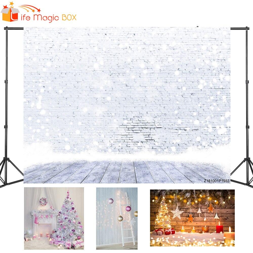 LIFE MAGIC BOX Photophone Photography Backdrops Christmas Fotografia Photocall Backgrounds for Photo Studio
