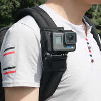 Bakeey Sport caméra sac à dos Clip Mount 360 degrés rotatif pour Xiaomi Yi pour Gopro Hero7 6 5 4 Action caméra accessoires