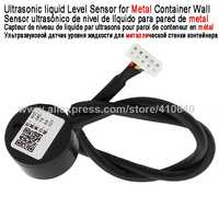 Ultraschall Flüssigkeit Ebene Detektor Flüssigkeit Level Sensor Für Metall Behälter Wand Verwendet Für Spezielle Industrie Kontaktlose Level Sensor