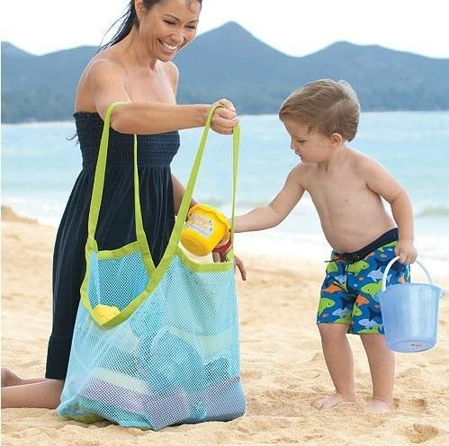 1PC Portable Foshnja Qese për ruajtjen e plazhit për fëmijë - Magazinimi dhe organizimi në shtëpi - Foto 3