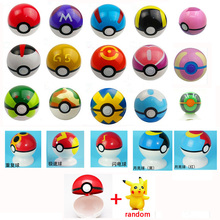 20 Colors Classic 7 cm Poke ball Each Pokeball 1pcs Free Random Action font b Figure