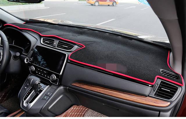 US $21 82 31% OFF|For HONDA CRV C RV 2017 2018 Dashboard Cover Mat Pad Sun  Shade Avoid Light Dash Board Carpet Protector Interior decoration-in
