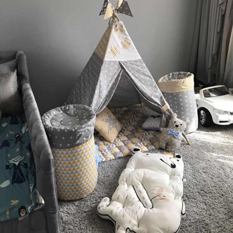 Кролик EDC коврик для лазания ползучее одеяло детская кровать диван играть Дети Пол INS Малыш крышка развивающая игрушка ковер подушка