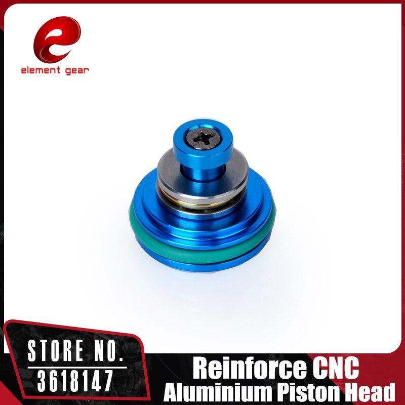 Element O-Ring CNC Aluminium Piston Head for Airsoft Ver 2/3/6 AEG Gearbox IN0408