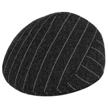 Men New Newsboy Caps Winter Warm Striped Flat Beret Hat Cabbie Driving Peaked Cap Classic Winter Warm Driving Men Newsboy Hat