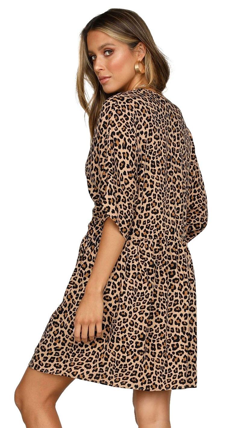 Leopard-Print-V-Neck-Button-Half-Sleeves-Swing-Dress-LC220685-20-2