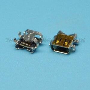 Connecteur 19 broches JACK TYPE D MICRO HDMI femelle, 10 pièces/lot, SMT 4, pied fixe